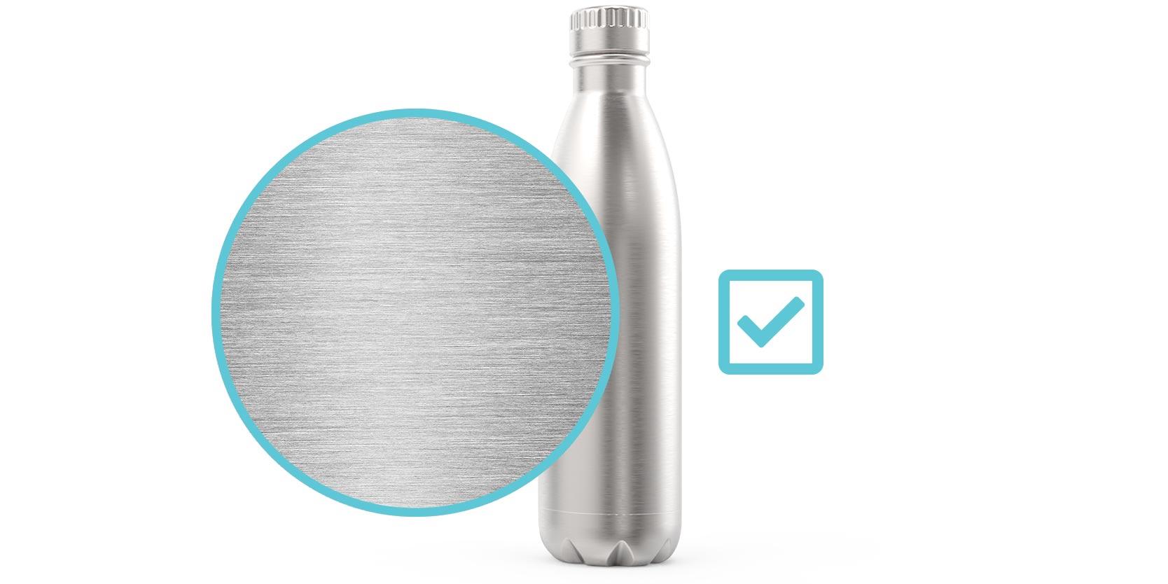Flasky - Food Grade Stainless Steel