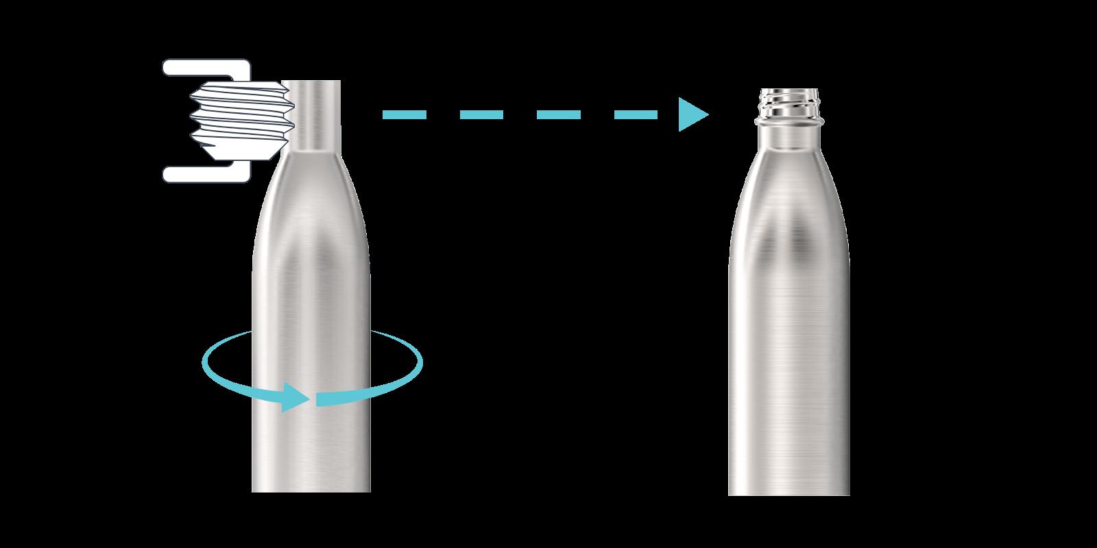 Jak produkujemy nasze metalowe butelki - Step3