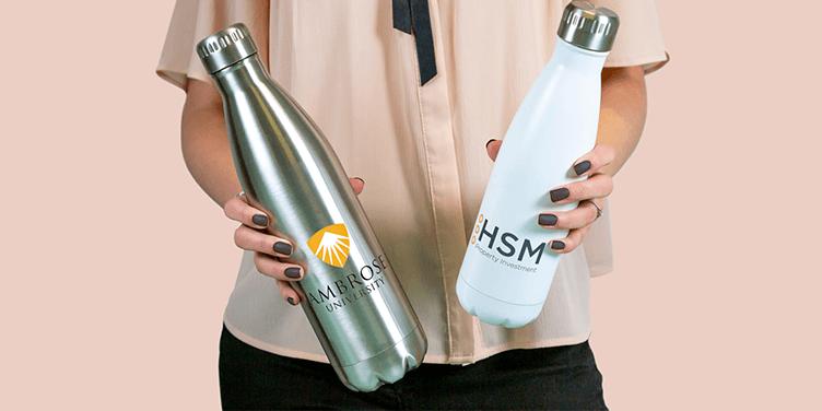 Flasky - Metalowe butelki